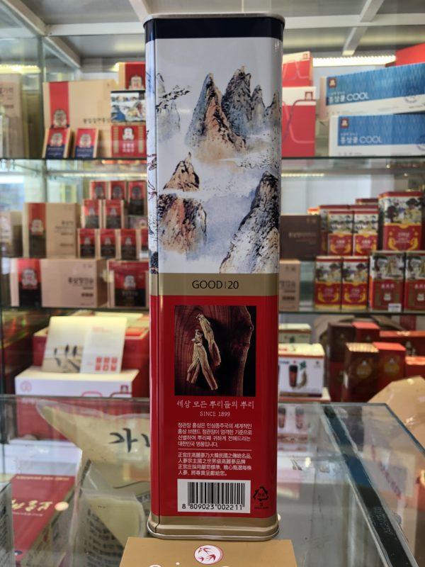hồng sâm củ khô kgc 600g số 20