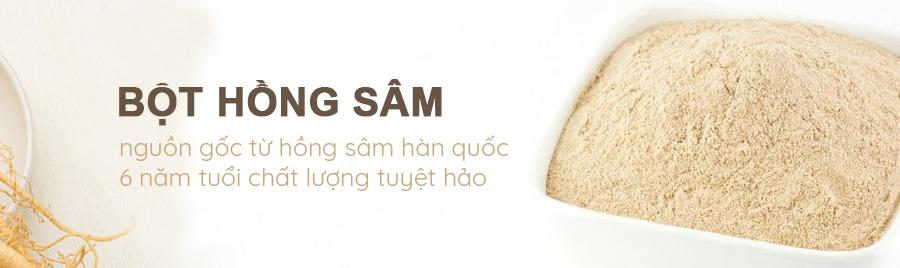 bột hồng sâm hàn quốc KGC vietnam