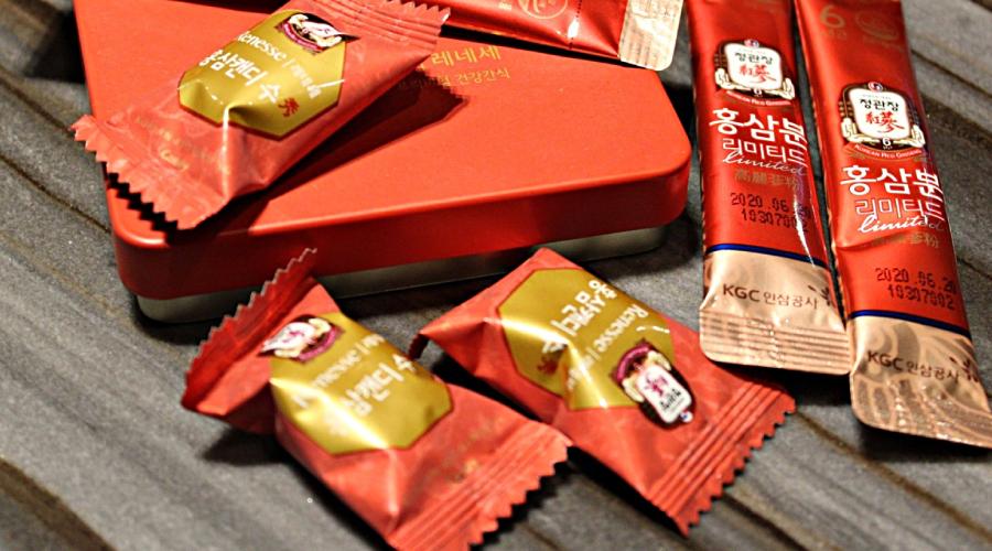 Kẹo hồng sâm Korean Red Ginseng Candy – sản phẩm Hàn Quốc cao cấp