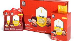 Nước Uống Hồng Sâm Cho Trẻ Em Kid Tonic Chính Hãng Tập Đoàn Cheong Kwan Jang